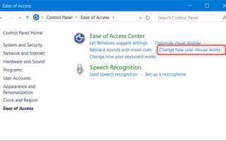 Установка курсора в операционных системах Windows 7, 8, 10: варианты и настройка
