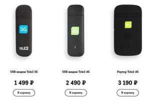 Все о Теле2 4G (LTE)
