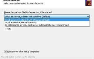 Настройка FTP-сервера с изоляцией пользователей на Windows Server 2016 / 2012 R2