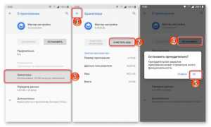 Android Process Acore произошла ошибка: методы как исправить