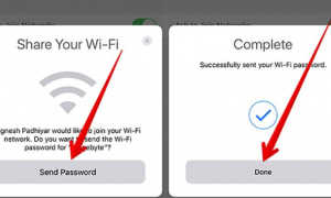 Как поделиться паролем Wi-Fi со своего iPhone на телефон Android