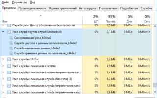 Решаем проблему, когда узел службы локальная система грузит диск с Windows 10