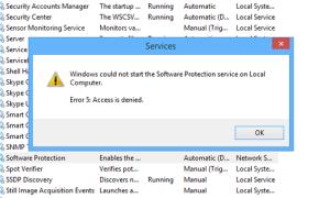 Системная ошибка 5: отказано в доступе (Windows 7)