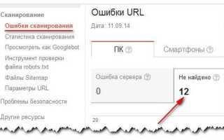 Ошибка 404 not found — методы определения и исправления