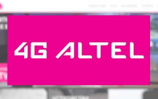 Личный кабинет Алтел 4G: регистрация аккаунта, функционал сайта провайдера