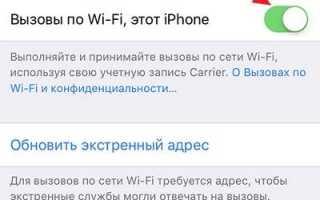 «Вызовы по Wi-Fi» (Wi-Fi Calling) на Айфоне: что это такое, как включить и какие операторы поддерживают
