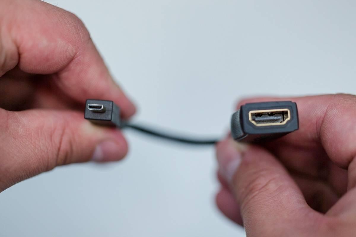 Переходник Micro HDMI - HDMI