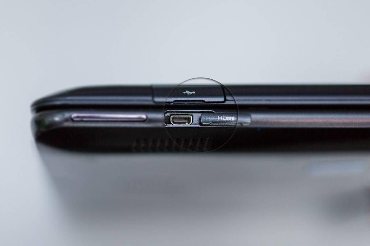 MicroHDMI на ноутбуках Samsung